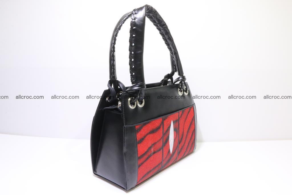 Stingray skin womens handbag 399 Foto 1