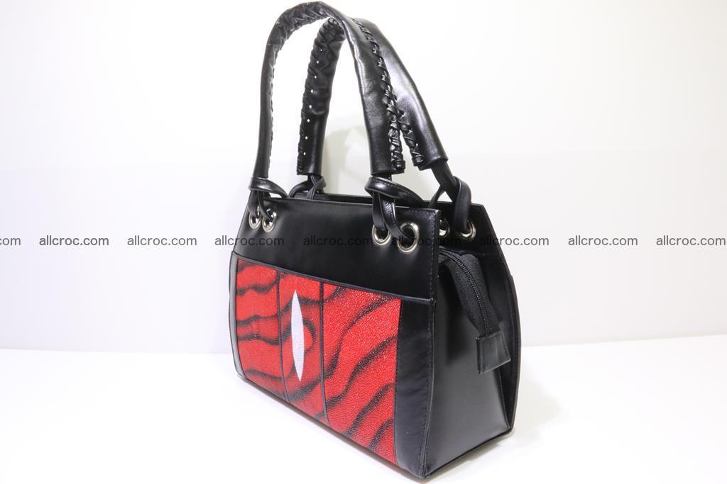 Stingray skin womens handbag 399 Foto 2