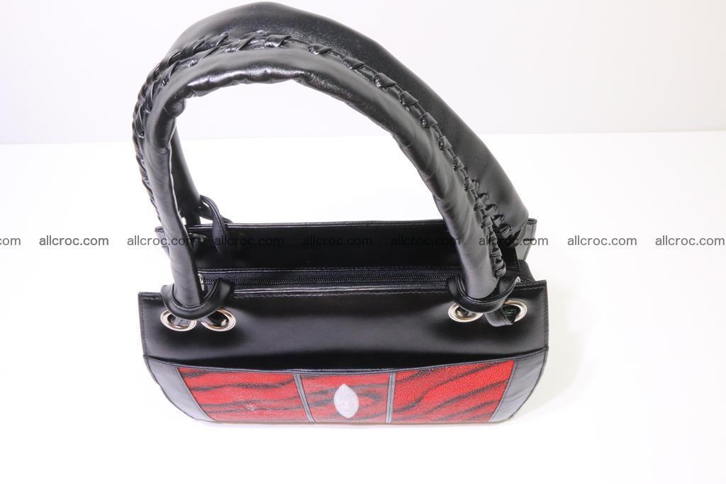 Stingray skin womens handbag 399 Foto 4