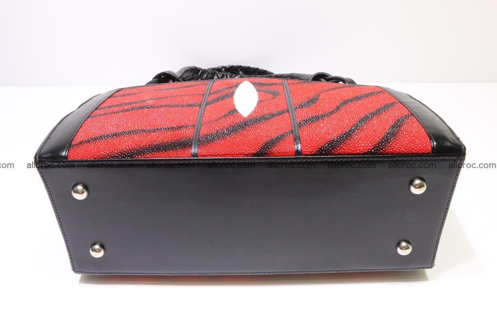 Stingray skin womens handbag 399 Foto 5