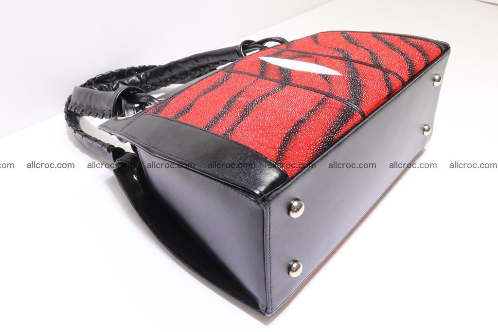 Stingray skin womens handbag 399 Foto 6