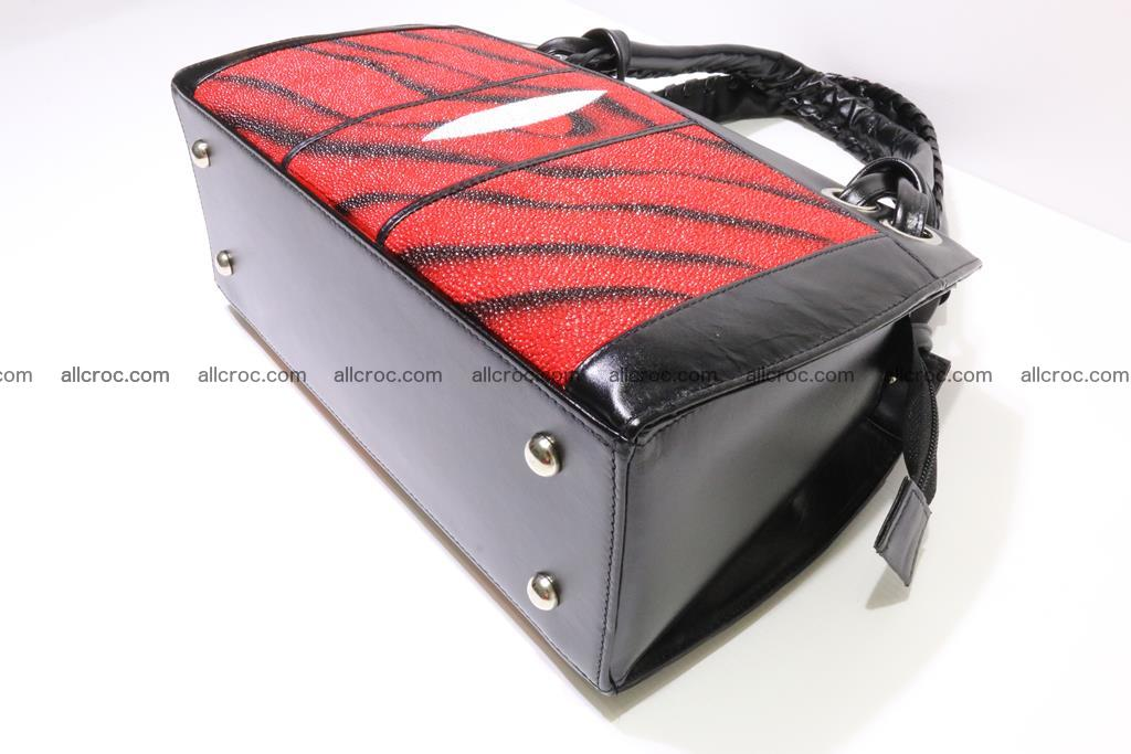 Stingray skin womens handbag 399 Foto 7