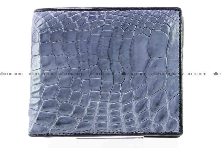Wallet from genuine Siamese crocodile skin 244