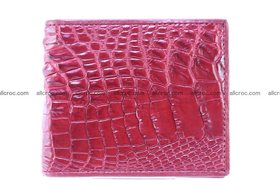 Crocodile skin wallet 245