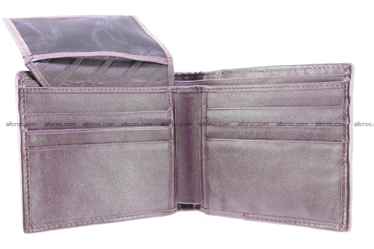 Crocodile skin wallet 250 Foto 6