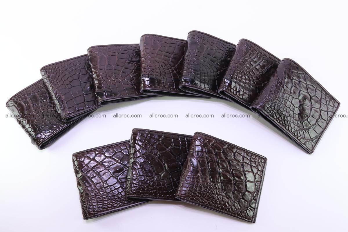 Crocodile skin wallet 250 Foto 7