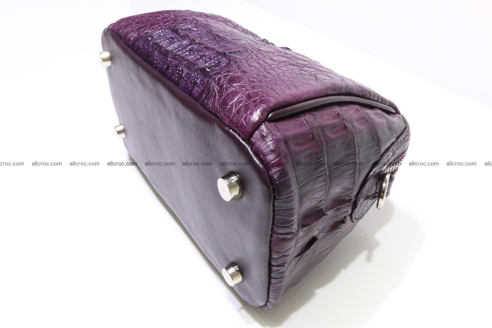 women's crocodile bag 036 Foto 8