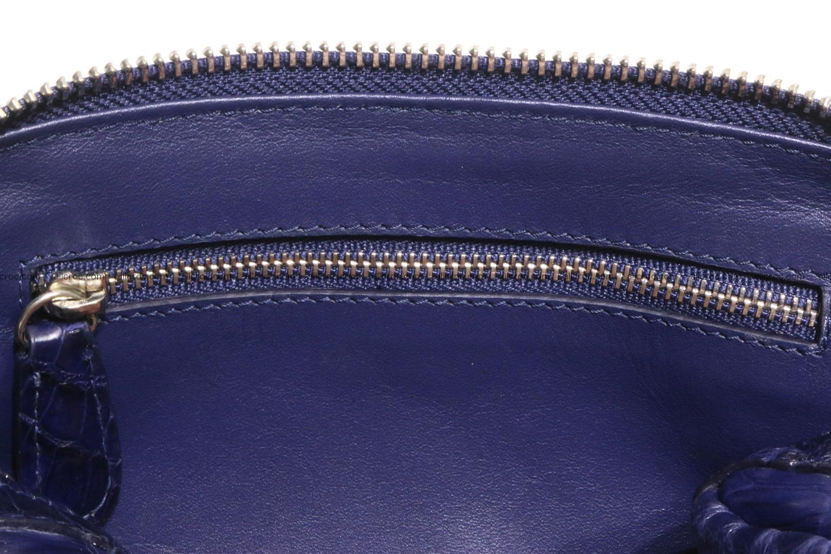 women's crocodile bag 040 Foto 12