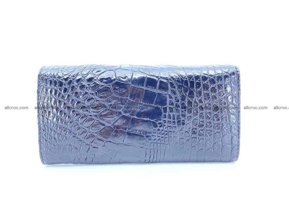 Crocodile leather long wallet trifold 620 Foto 1