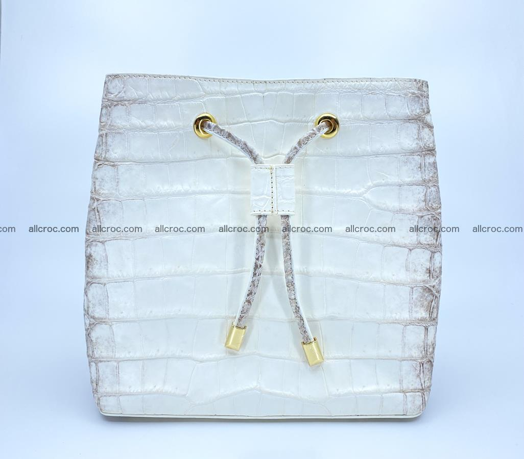 Women's crocodile skin handbag 1454 Foto 0