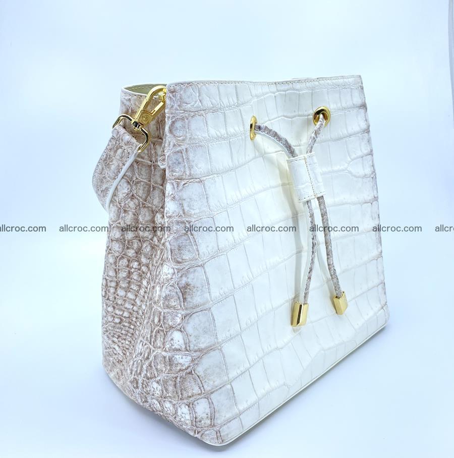 Women's crocodile skin handbag 1454 Foto 1
