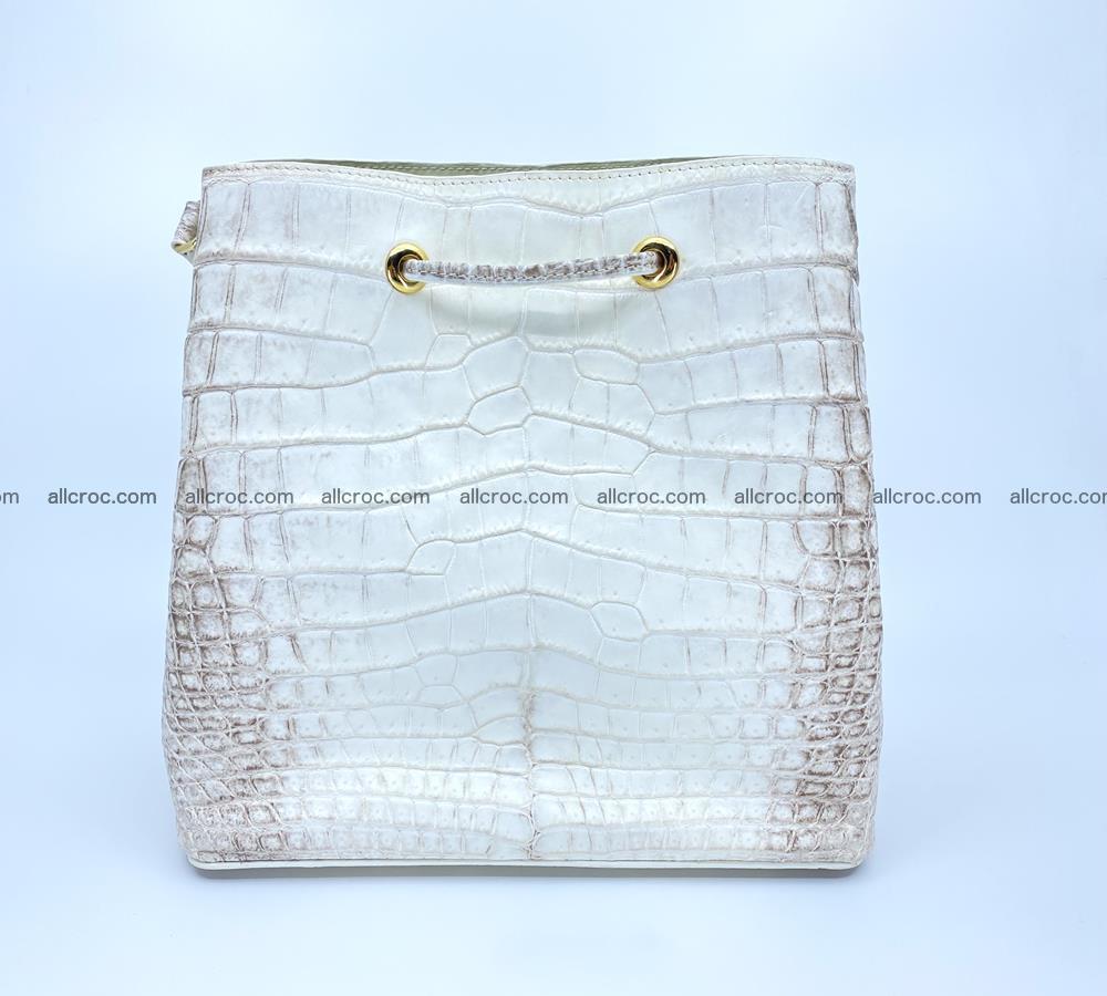 Women's crocodile skin handbag 1454 Foto 4