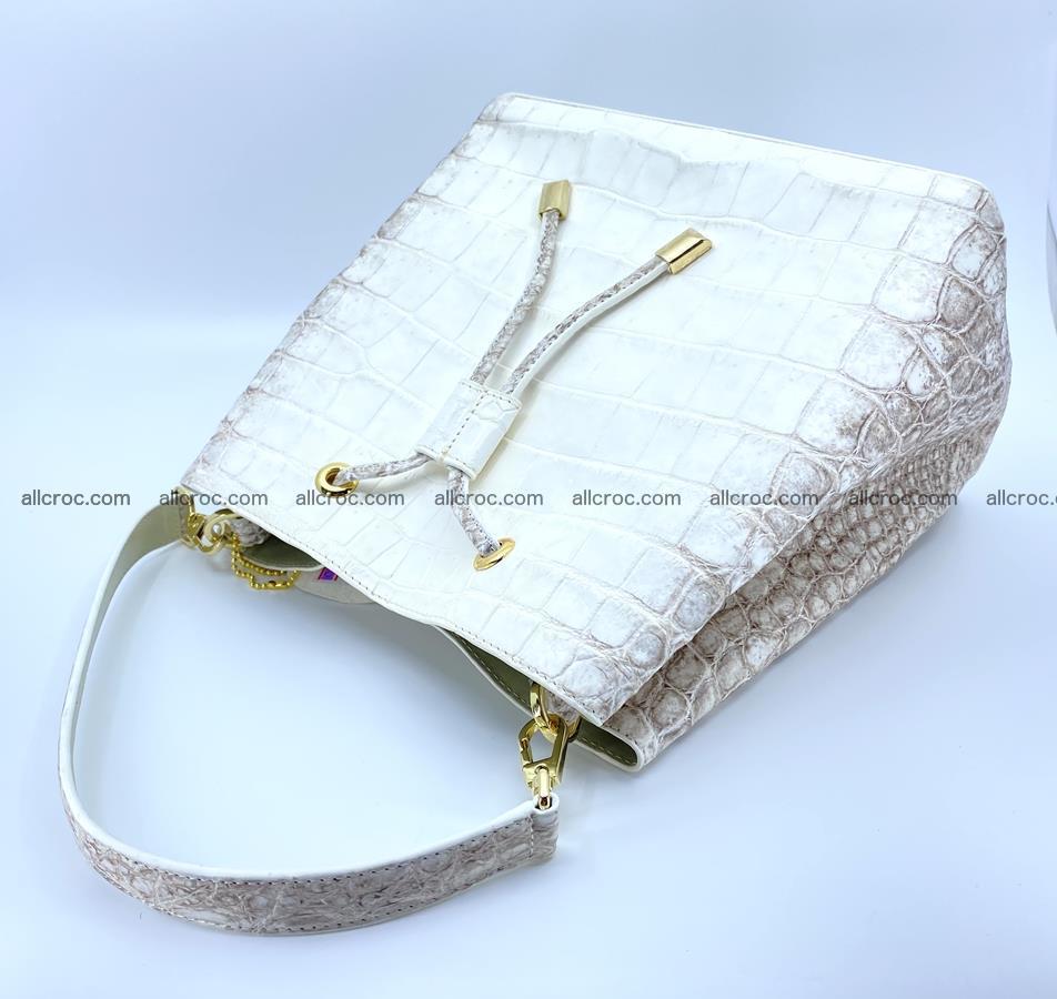 Women's crocodile skin handbag 1454 Foto 6