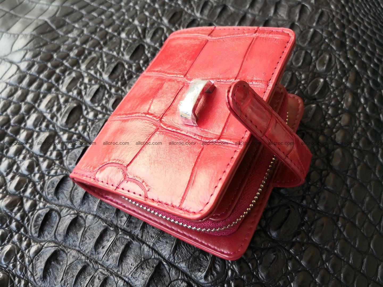 Women's crocodile skin wallet 391 Foto 2