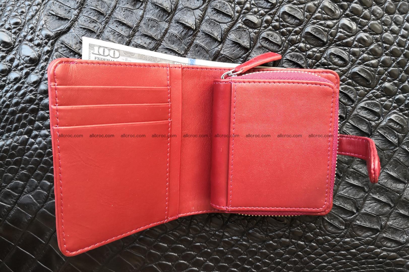 Women's crocodile skin wallet 391 Foto 8
