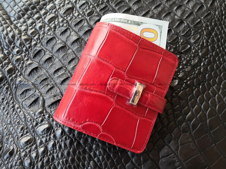 Women's crocodile skin wallet 391 Foto 0