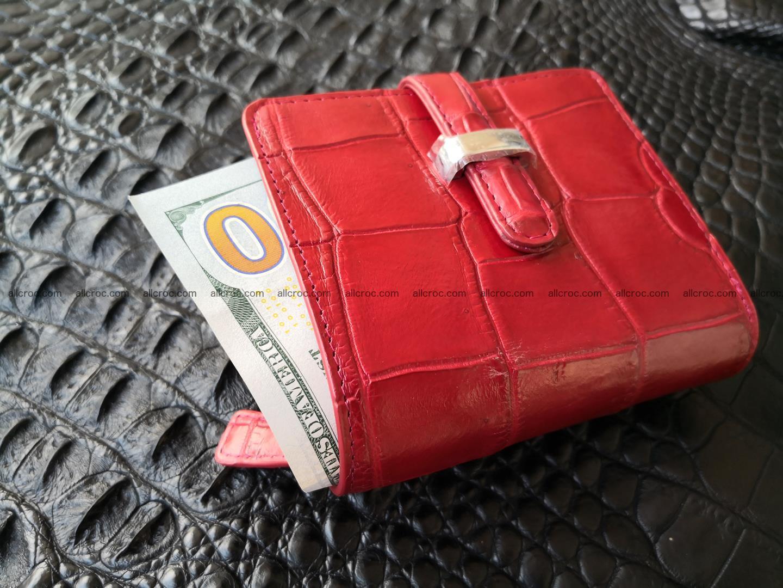 Women's crocodile skin wallet 391 Foto 1