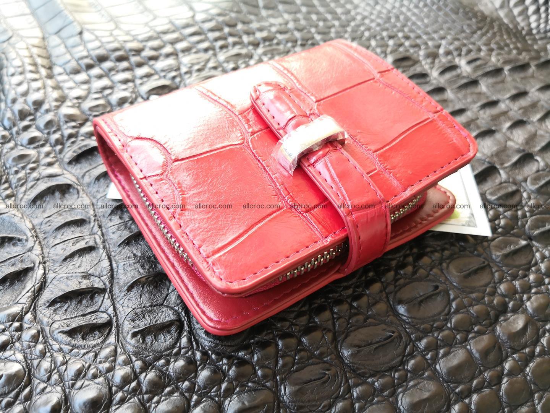 Women's crocodile skin wallet 391 Foto 4