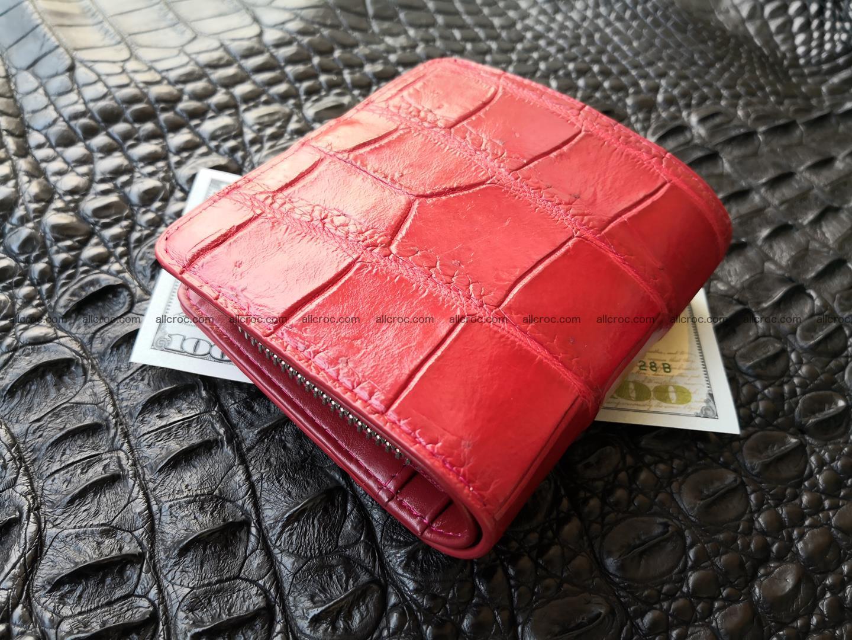 Women's crocodile skin wallet 391 Foto 3