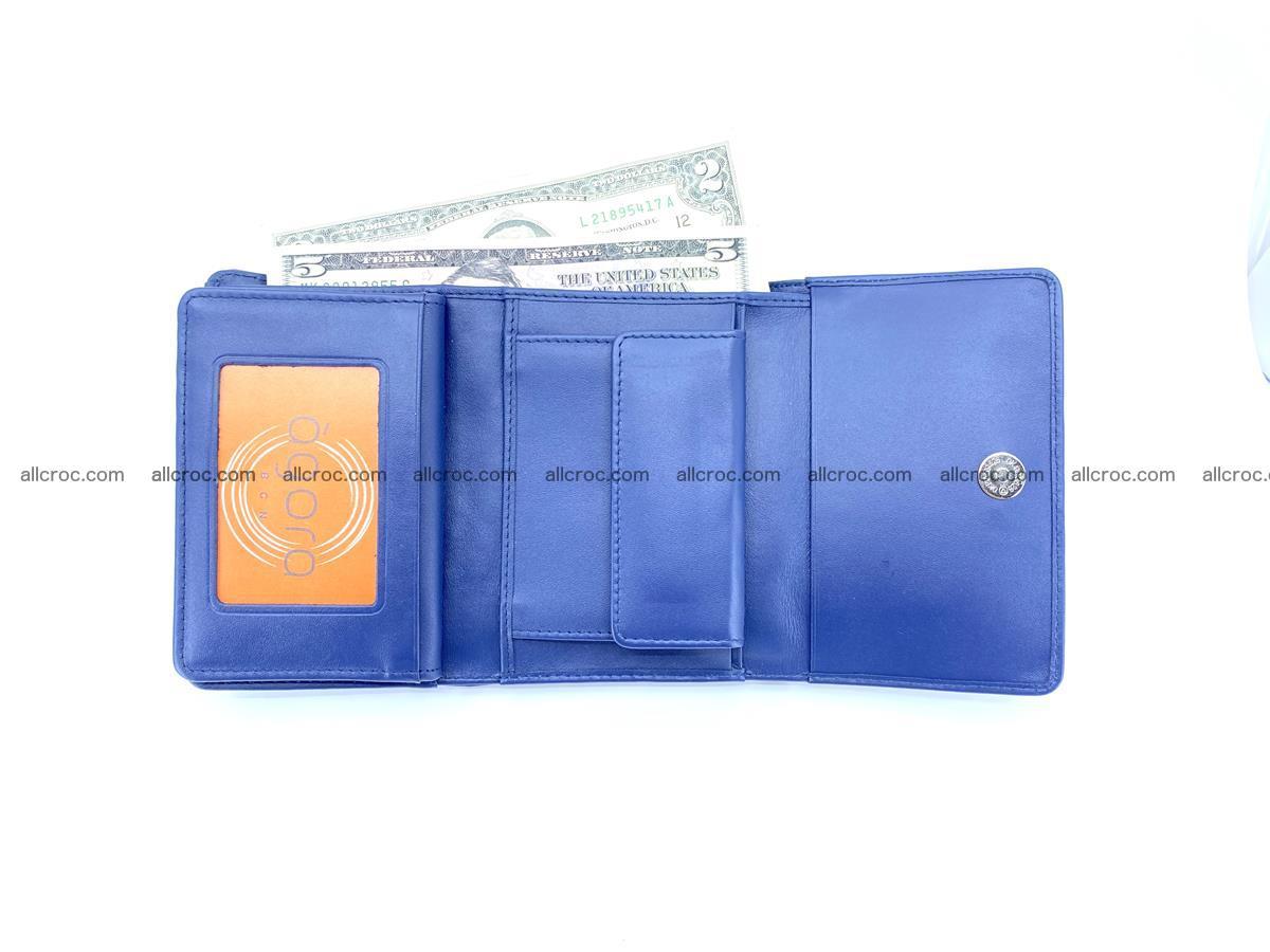 Women's wallet from crocodile leather 584 Foto 6