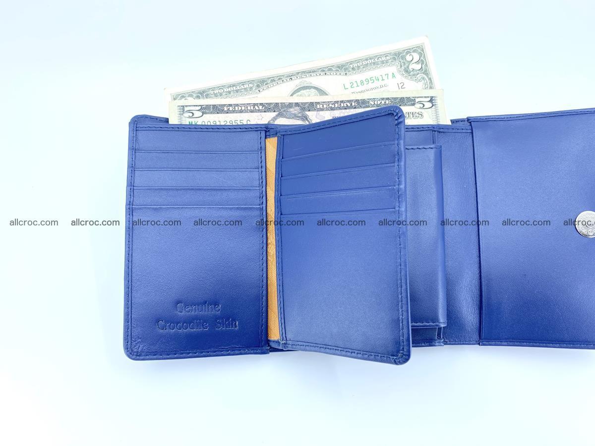 Women's wallet from crocodile leather 584 Foto 7