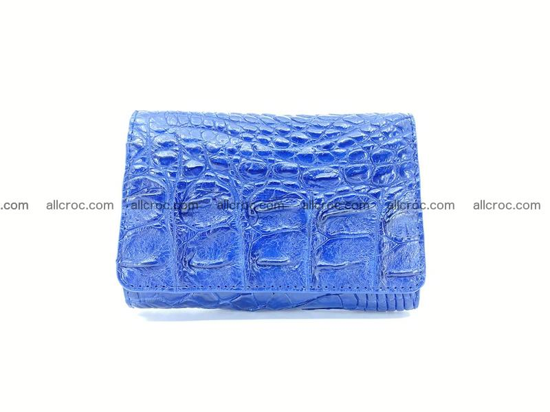 Women's wallet from crocodile leather 584