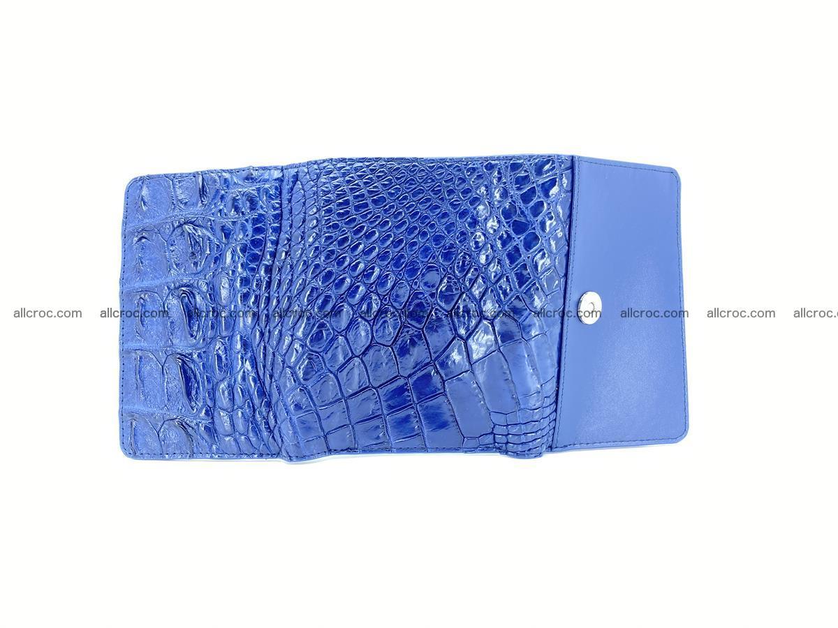 Women's wallet from crocodile leather 584 Foto 8
