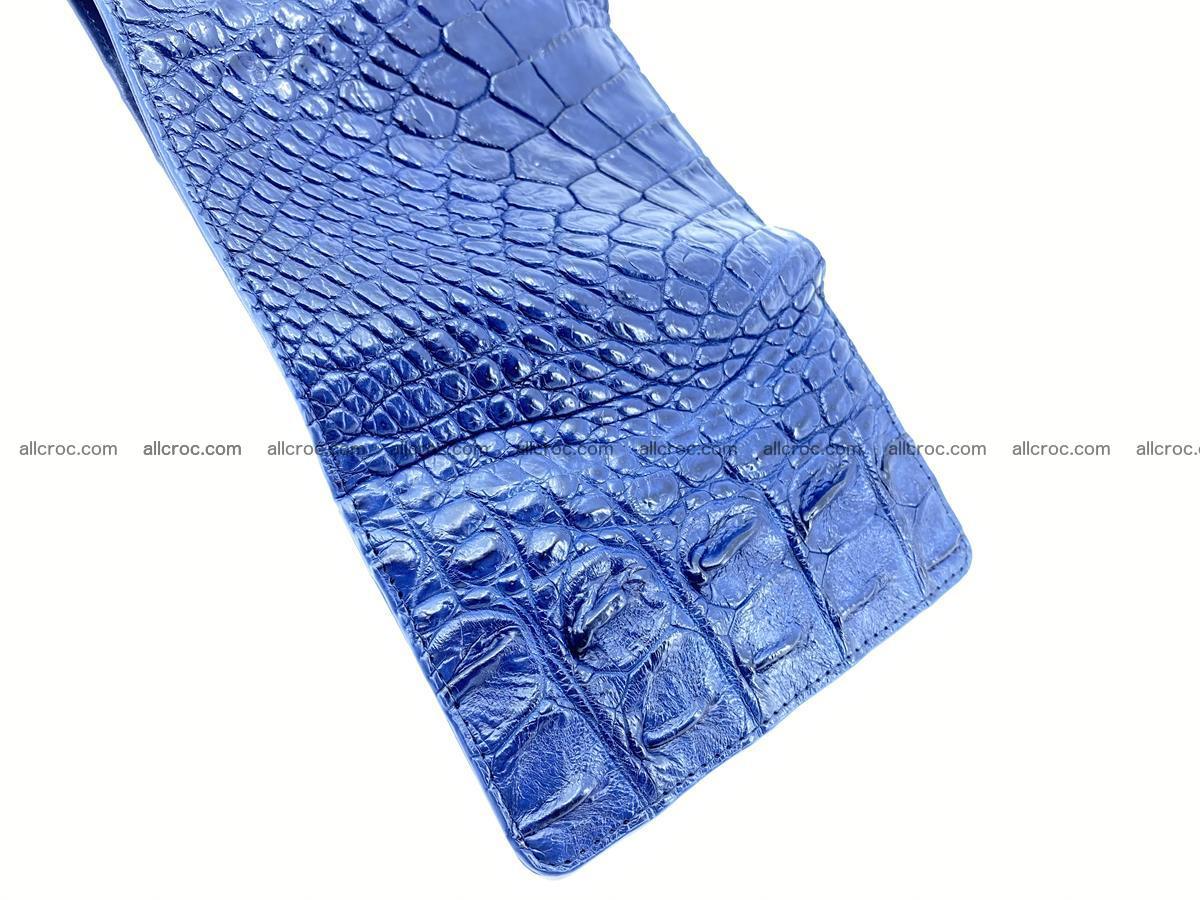 Women's wallet from crocodile leather 584 Foto 9