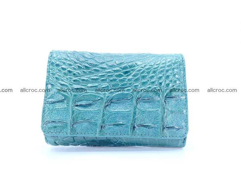 Women's wallet from crocodile leather 583