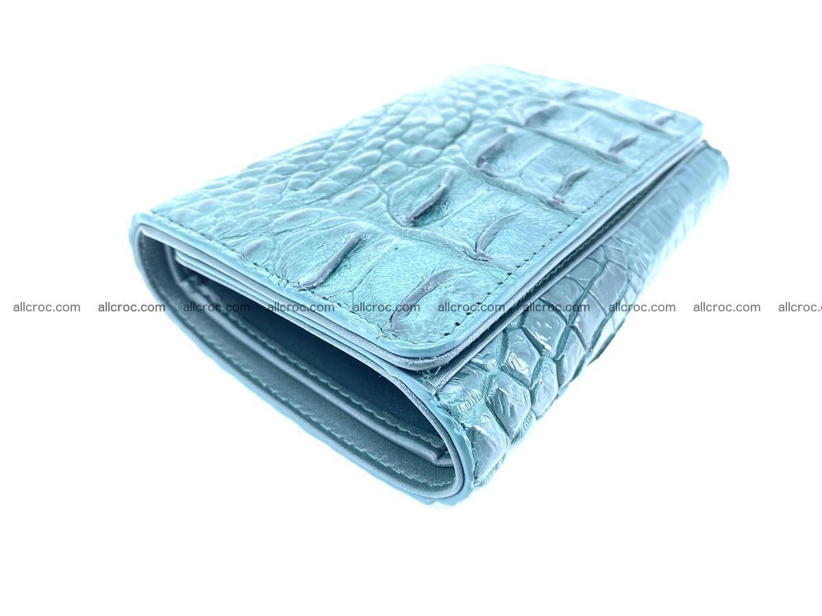 Women's wallet from crocodile leather 583 Foto 4
