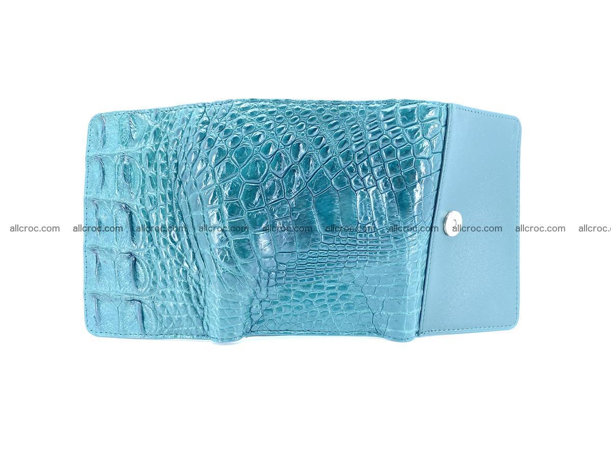 Women's wallet from crocodile leather 583 Foto 8
