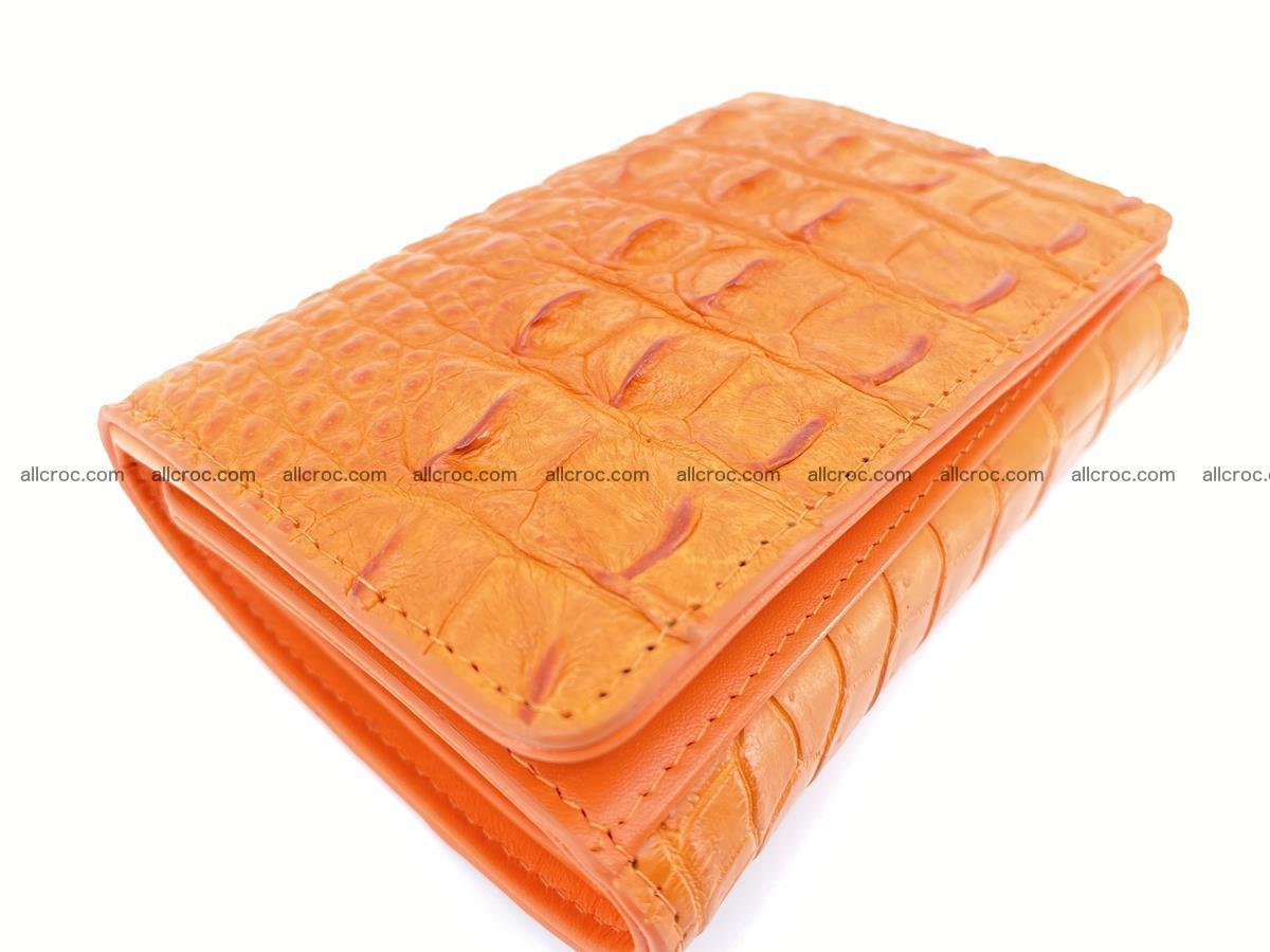 Women's wallet from crocodile leather 578 Foto 4