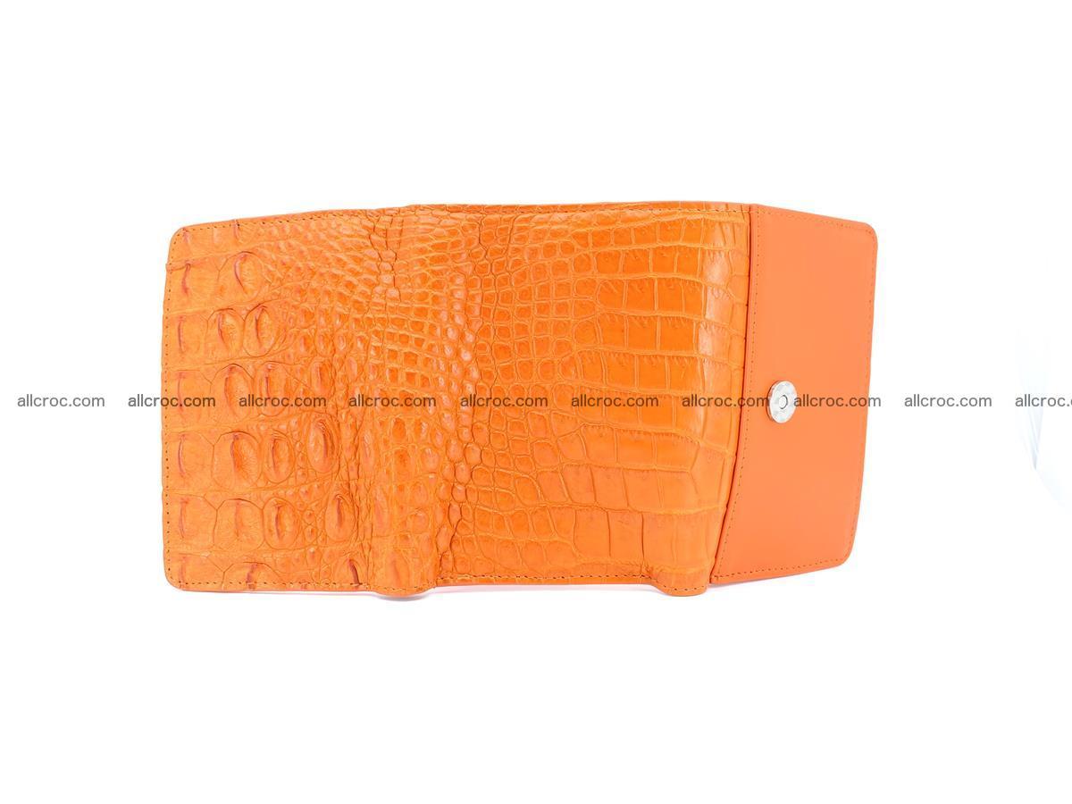 Women's wallet from crocodile leather 578 Foto 9