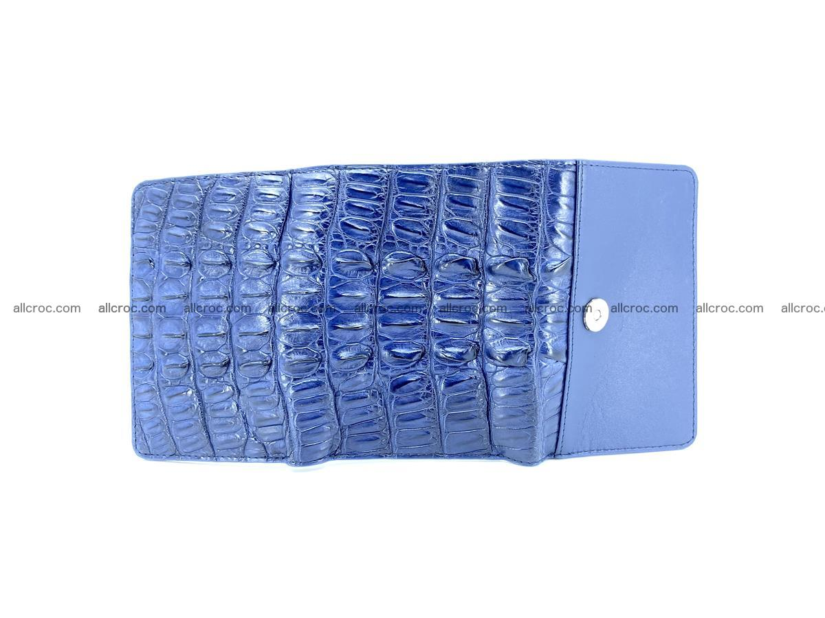 Women's wallet from crocodile leather 587 Foto 6