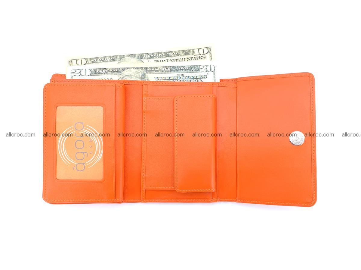 Women's wallet from crocodile leather 581 Foto 6