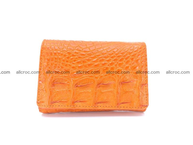 Women's wallet from crocodile leather 581