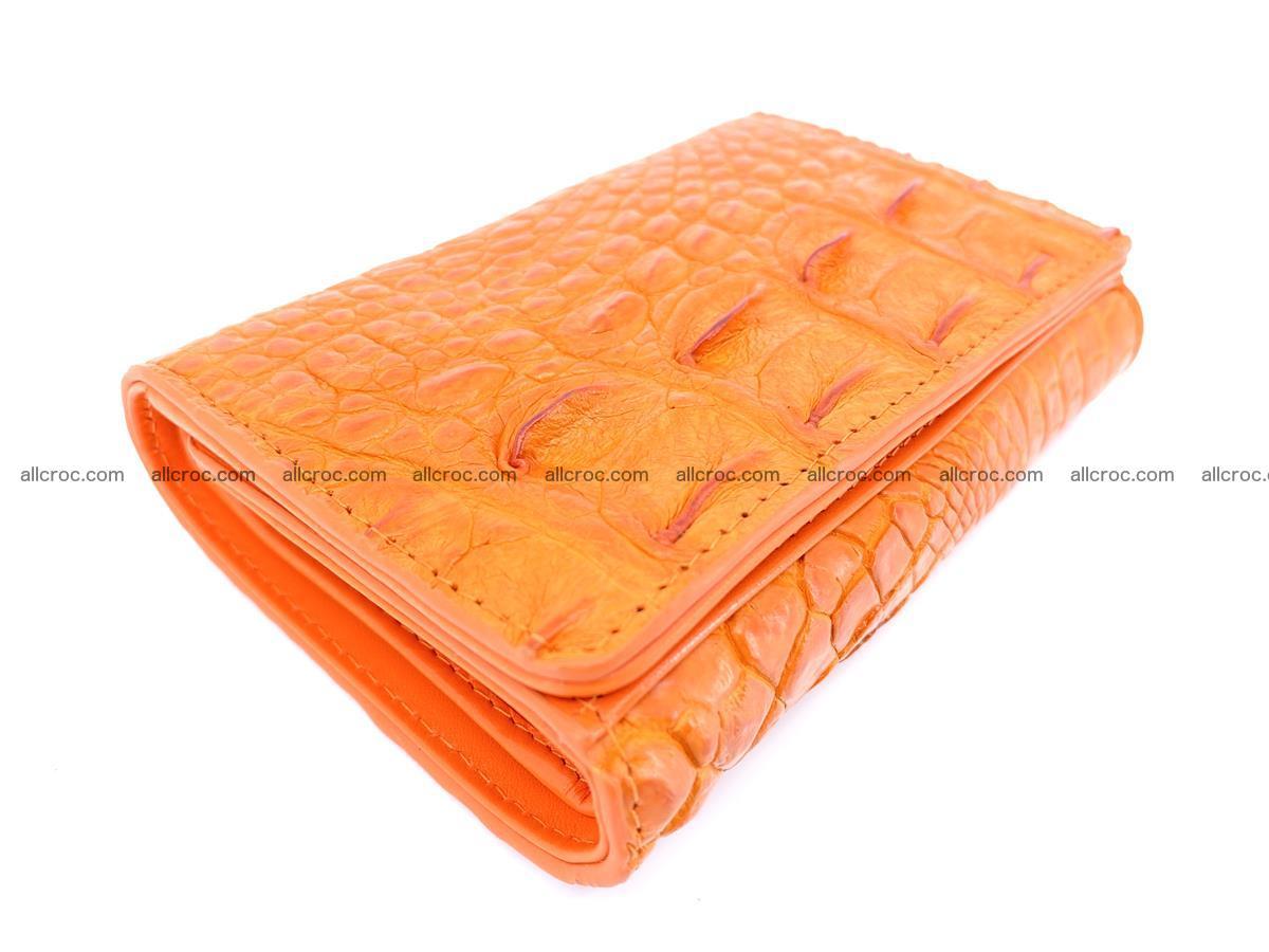 Women's wallet from crocodile leather 581 Foto 4