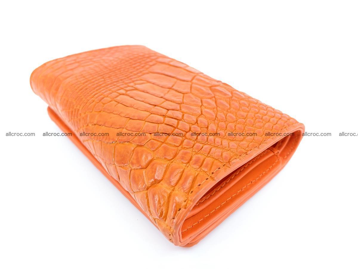 Women's wallet from crocodile leather 581 Foto 5