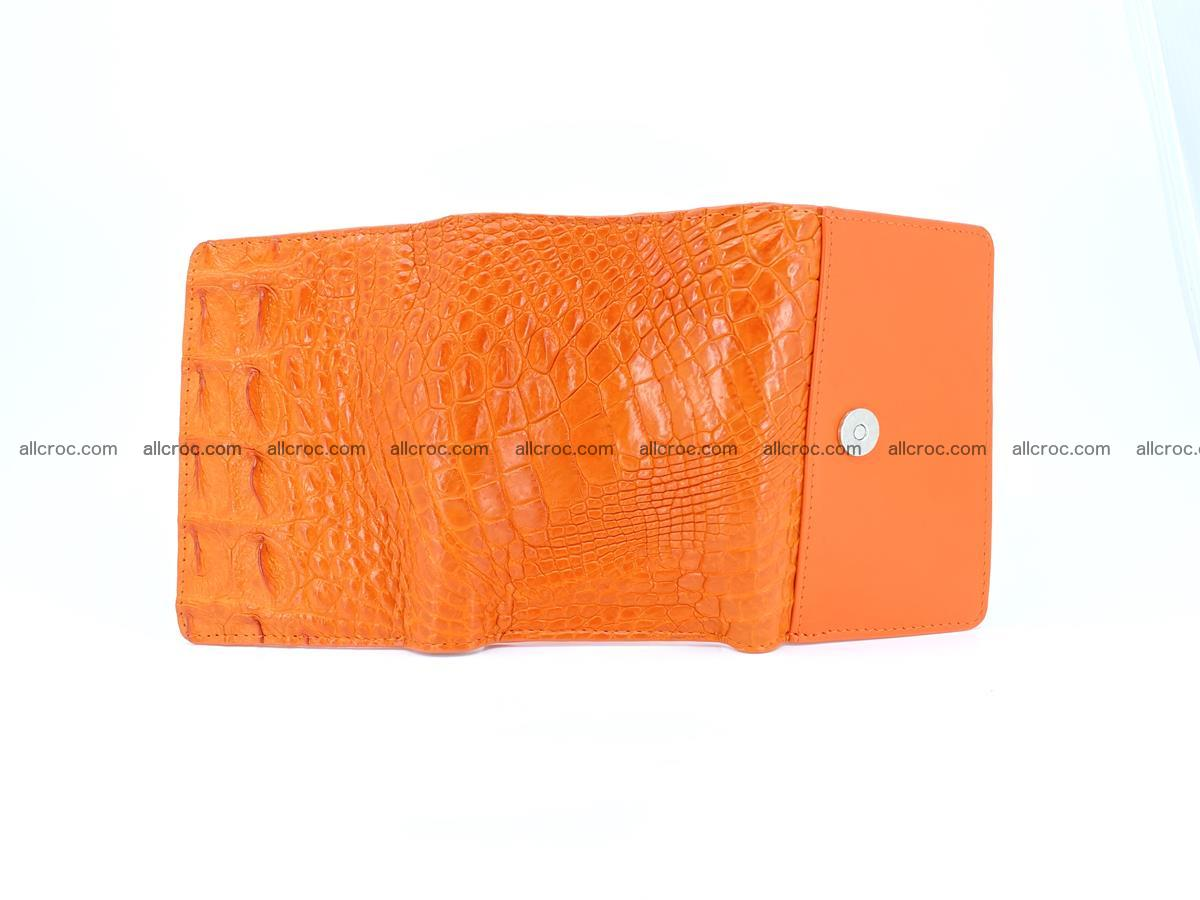 Women's wallet from crocodile leather 581 Foto 8