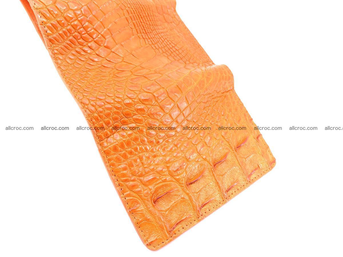 Women's wallet from crocodile leather 581 Foto 9