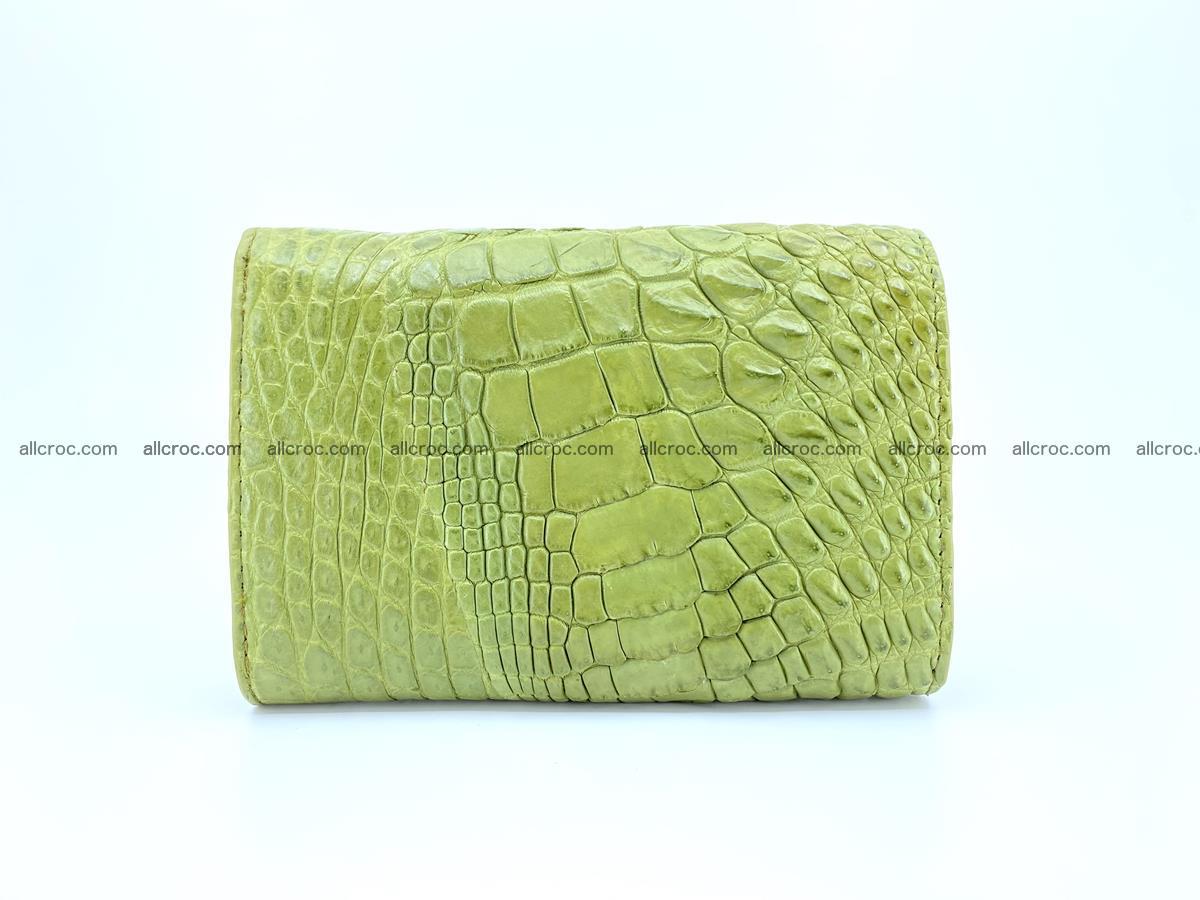 Women's wallet from crocodile leather 582 Foto 1