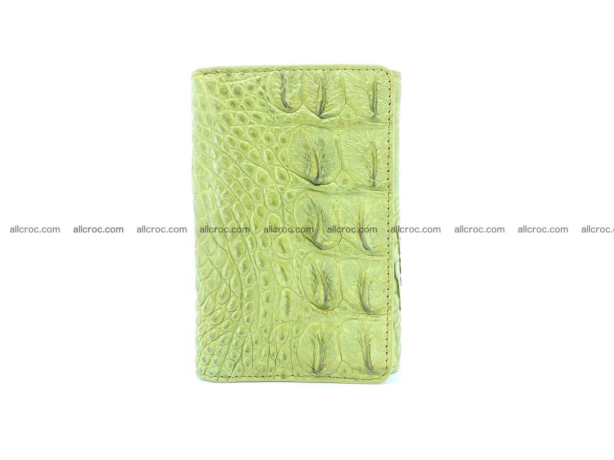 Women's wallet from crocodile leather 582 Foto 2