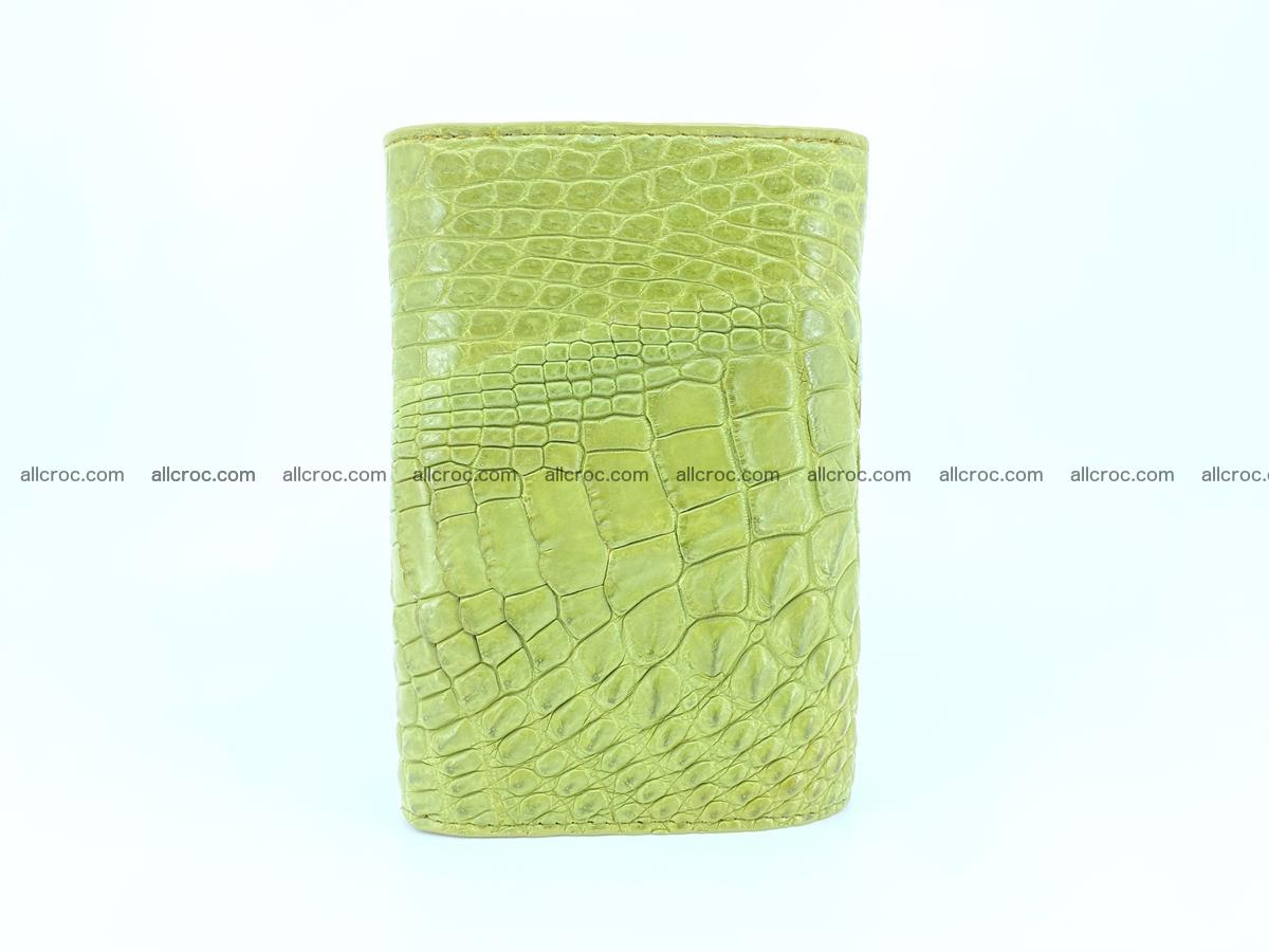 Women's wallet from crocodile leather 582 Foto 3