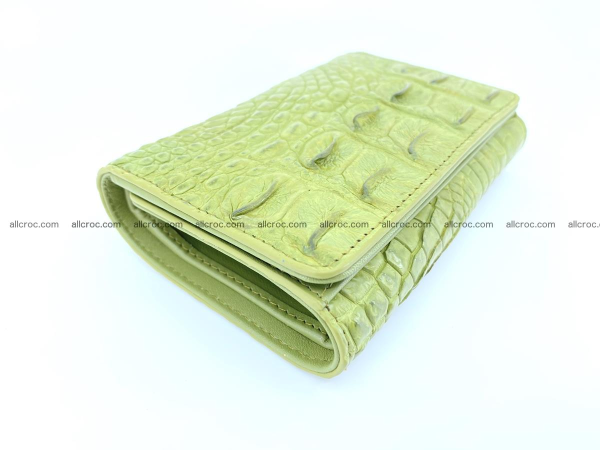 Women's wallet from crocodile leather 582 Foto 4