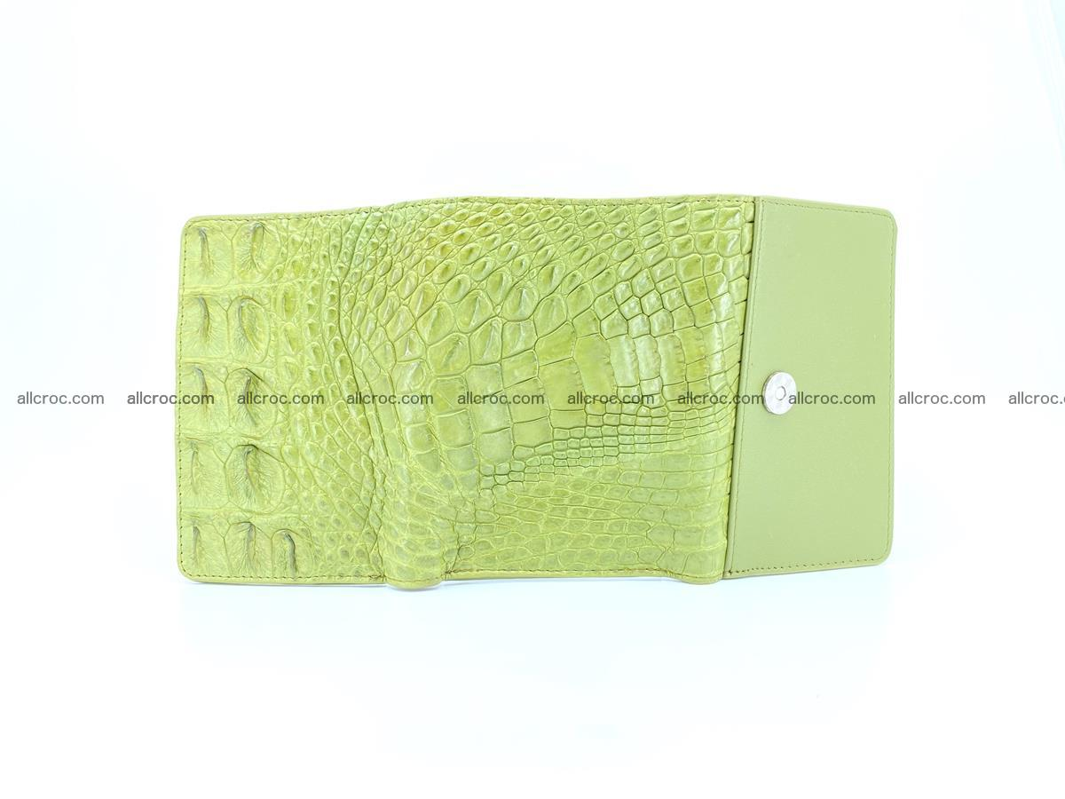Women's wallet from crocodile leather 582 Foto 6