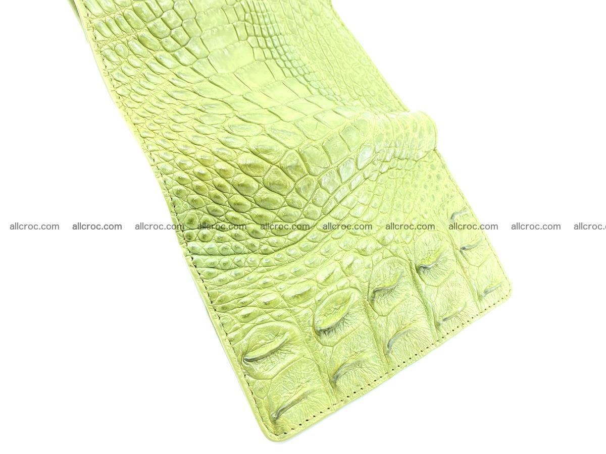 Women's wallet from crocodile leather 582 Foto 7