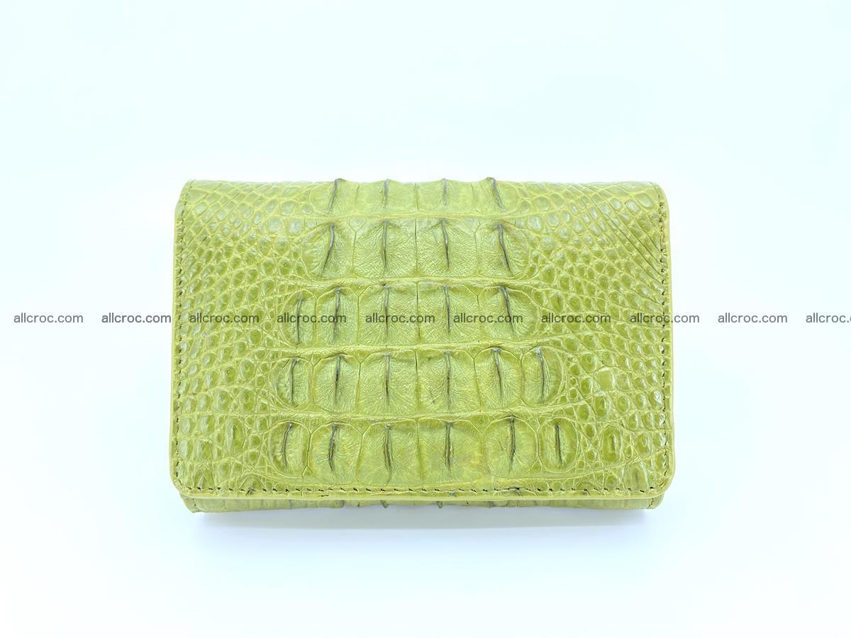 Women's wallet from crocodile leather 586 Foto 0