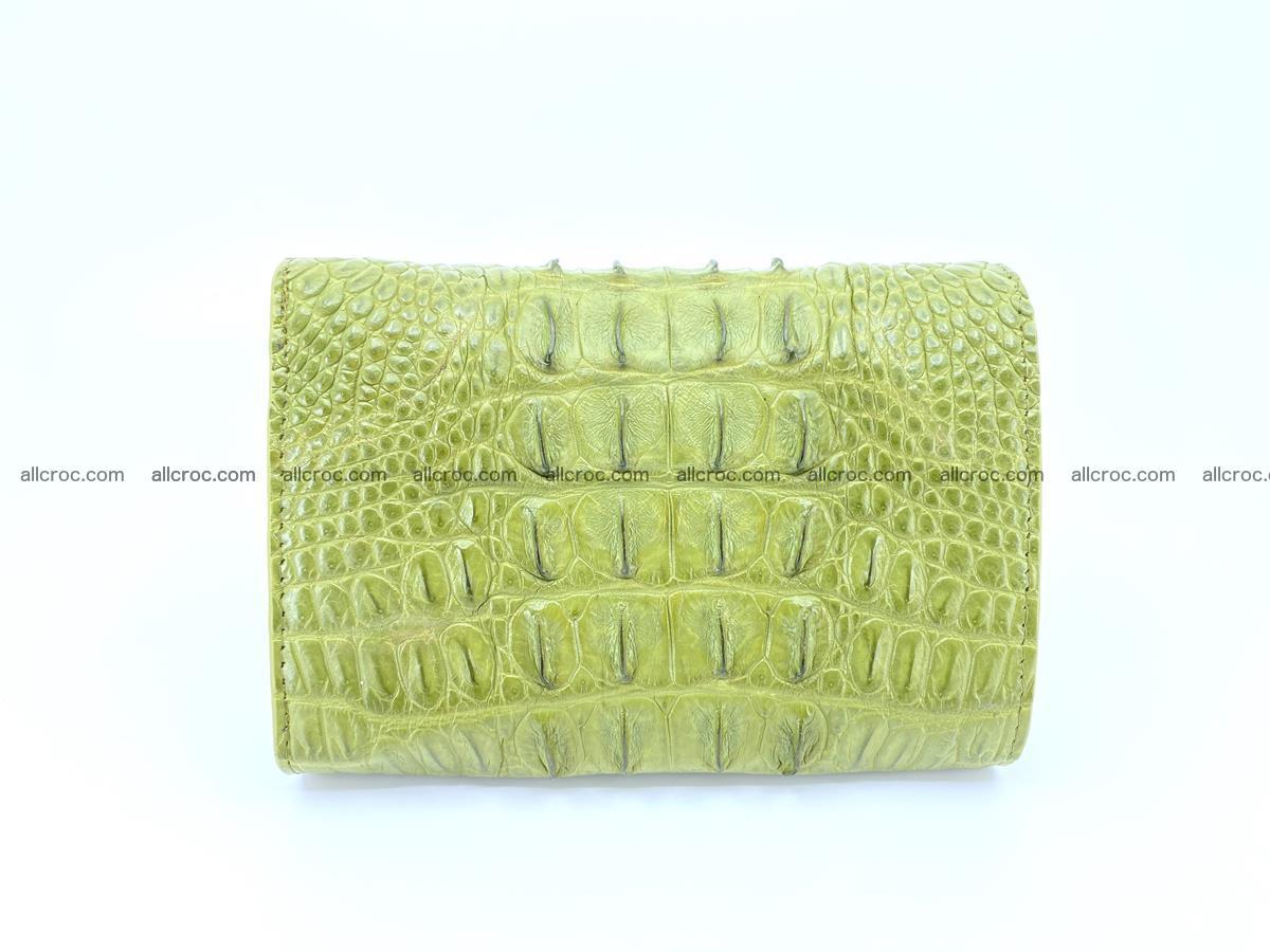 Women's wallet from crocodile leather 586 Foto 1