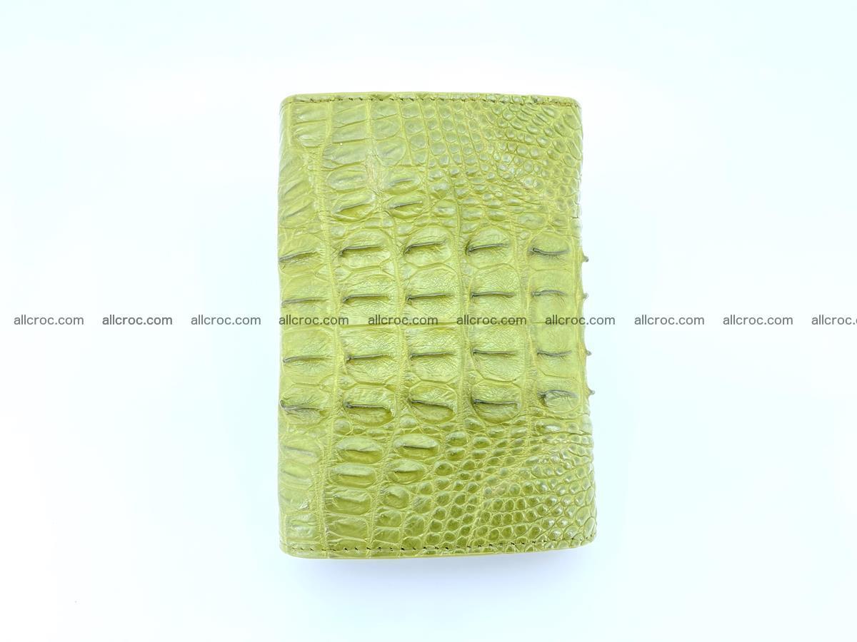 Women's wallet from crocodile leather 586 Foto 3