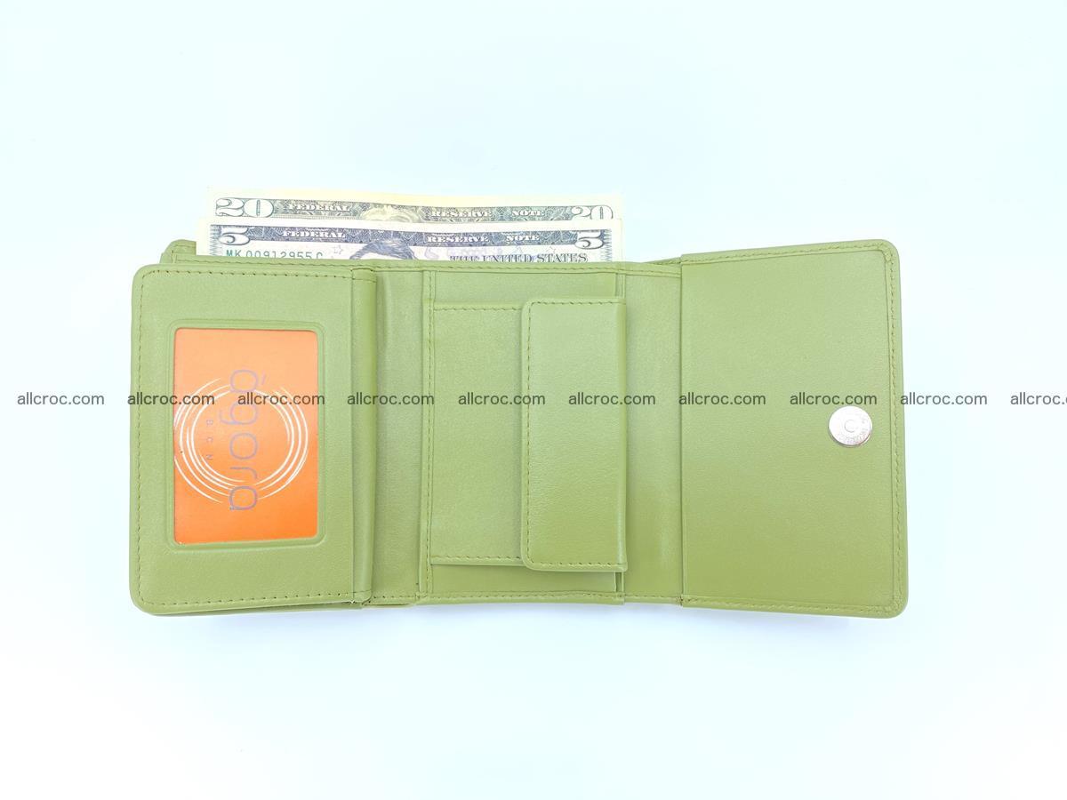 Women's wallet from crocodile leather 586 Foto 6